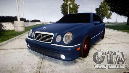 Mercedes-Benz W210 E55 2000 AMG Vossen VVS CVT pour GTA 4