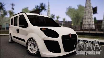 Fiat Doblo 2010 Edit pour GTA San Andreas