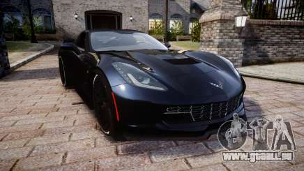 Chevrolet Corvette Z06 2015 TireYA3 pour GTA 4