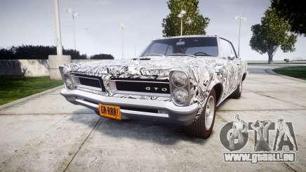 Pontiac GTO 1965 Sharpie für GTA 4