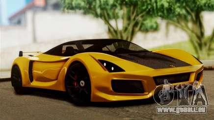 Ferrari Velocita 2013 SA Plate pour GTA San Andreas