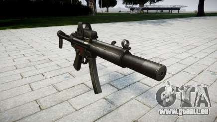 Gun MP5SD EOTHS FS für GTA 4
