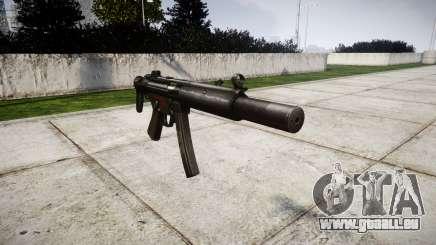 Deutsche Maschinenpistole HK MP5SD3 für GTA 4