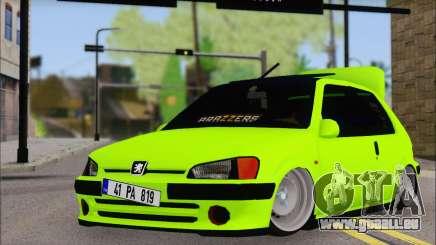 Peugeot 106 GTI JDM STYLE für GTA San Andreas