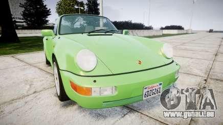 Porsche 911 (964) Cabrio pour GTA 4