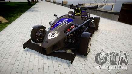 Ariel Atom V8 2010 [RIV] v1.1 Jancon mobile für GTA 4