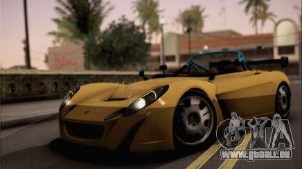 Lotus 2 Eleven (211) für GTA San Andreas