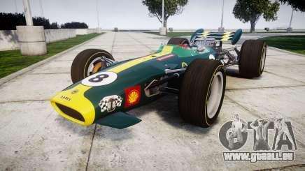 Lotus 49 1967 green für GTA 4