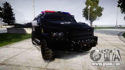 SWAT Van für GTA 4