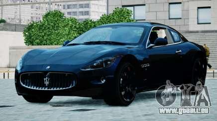 Maserati Granturismo 2012 pour GTA 4