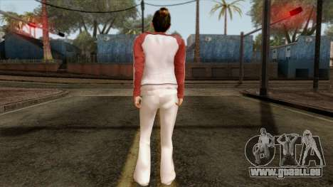GTA 4 Skin 8 pour GTA San Andreas deuxième écran