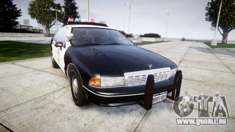 Chevrolet Caprice 1991 LAPD [ELS] Traffic pour GTA 4