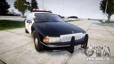 Chevrolet Caprice 1991 LAPD [ELS] Traffic für GTA 4