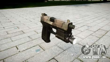 Pistole HK USP 45 erdl für GTA 4