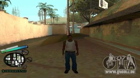 C-HUD New Style pour GTA San Andreas deuxième écran