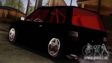 Perodua Kancil L2s v0.2 pour GTA San Andreas laissé vue