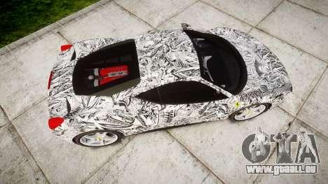 Ferrari 458 Italia 2010 v3.0 Sharpie pour GTA 4 est un droit