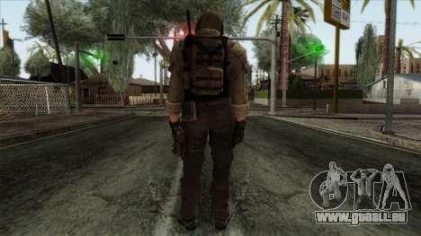 Modern Warfare 2 Skin 10 pour GTA San Andreas deuxième écran