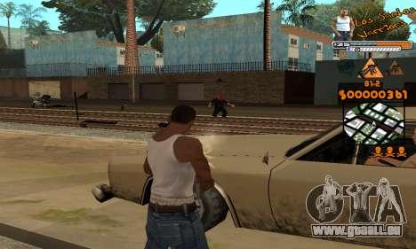 C-HUD LSW für GTA San Andreas fünften Screenshot
