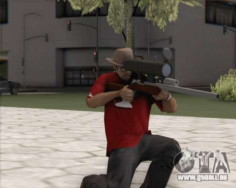 TF2 Sniper Rifle pour GTA San Andreas deuxième écran