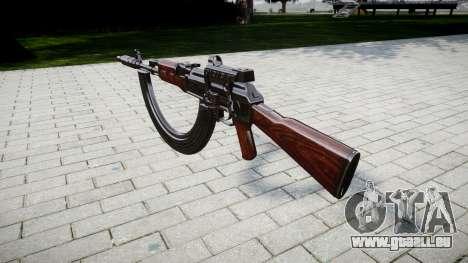 Автомат АК-47 Collimateur. Le museau et les HICA pour GTA 4 secondes d'écran
