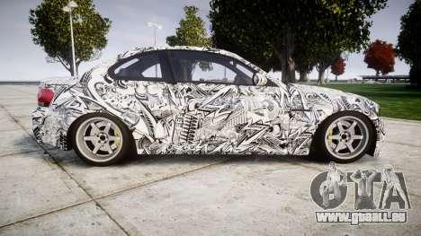 BMW 1M 2011 Sharpie pour GTA 4 est une gauche