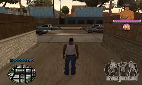 C-HUD 2Pac für GTA San Andreas