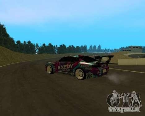Nissan Silvia S15 EXEDY für GTA San Andreas zurück linke Ansicht