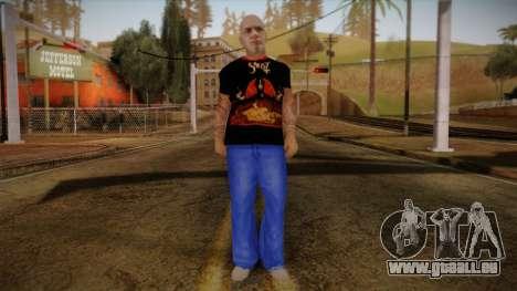 Phil Anselmo Skin pour GTA San Andreas