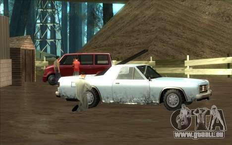 Straße garage von Siega für GTA San Andreas fünften Screenshot