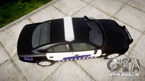Dodge Charger RT 2014 Sheriff [ELS] für GTA 4 rechte Ansicht