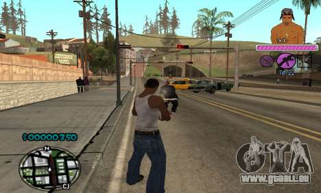 C-HUD 2Pac für GTA San Andreas her Screenshot