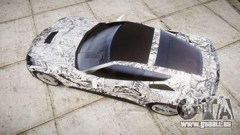 Chevrolet Corvette Stingray C7 2014 Sharpie für GTA 4 rechte Ansicht