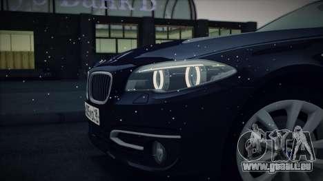 BMW 535i F10 für GTA San Andreas Seitenansicht