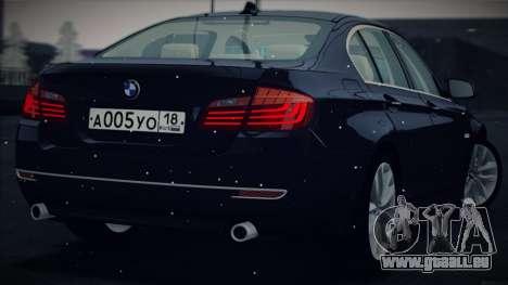 BMW 535i F10 für GTA San Andreas rechten Ansicht