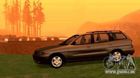 Daewoo Nubira I Kombi CDX US 1999 für GTA San Andreas rechten Ansicht