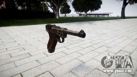Pistolet Luger P08 pour GTA 4