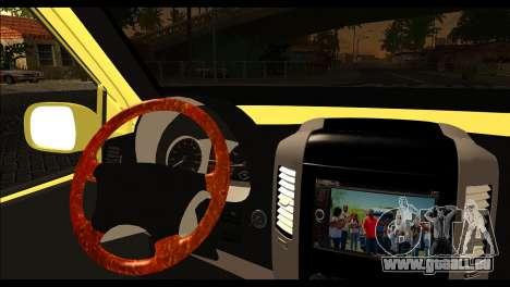 Volkswagen Transporter Panelvan für GTA San Andreas zurück linke Ansicht
