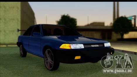 Toyota Corolla 1990 4-Door Sedan für GTA San Andreas