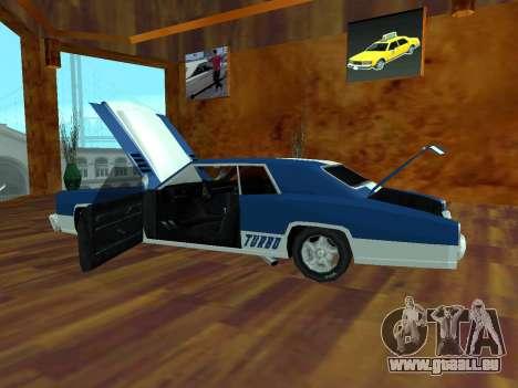 Buccaneer-Turbo für GTA San Andreas rechten Ansicht
