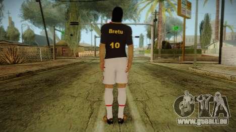 Footballer Skin 1 pour GTA San Andreas deuxième écran