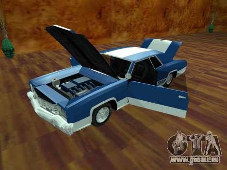 Buccaneer-Turbo für GTA San Andreas zurück linke Ansicht