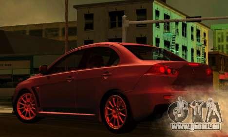 ENB Series pour les faibles PC 2.0 pour GTA San Andreas sixième écran