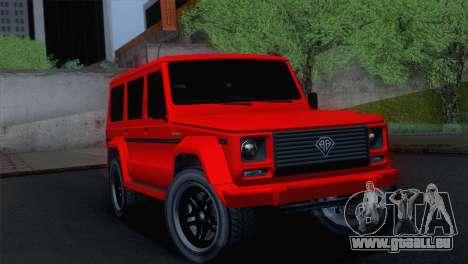 GTA 5 Benefactor Dubsta pour GTA San Andreas