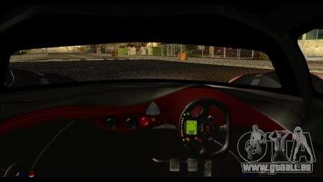 Mazda Furai Concept 2008 für GTA San Andreas zurück linke Ansicht