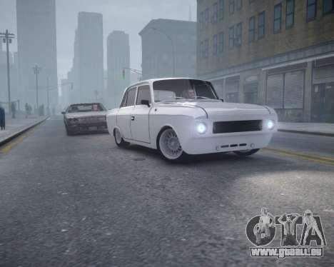 Moskvitch 412 pour GTA 4 est un droit