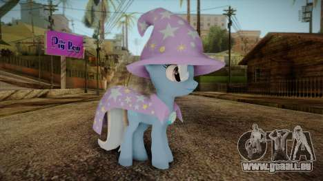 Trixie from My Little Pony pour GTA San Andreas