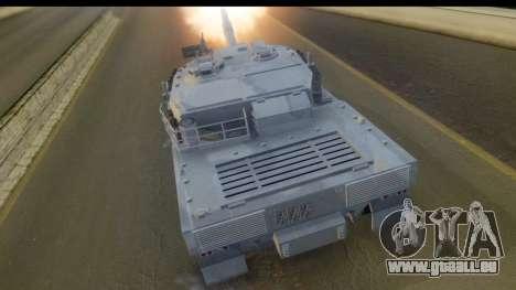 GTA V Rhino V2 für GTA San Andreas linke Ansicht
