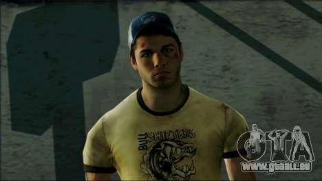 Left 4 Dead Survivor 6 pour GTA San Andreas troisième écran