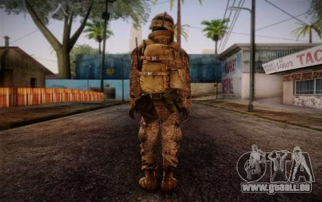 Blackburn from Battlefield 3 pour GTA San Andreas deuxième écran